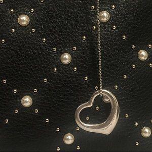 Tiffany & Co Large Elsa Peretti Heart Necklace
